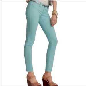 CAbi Jeans Mint Skinny Low-Rise Jeans size 4 6